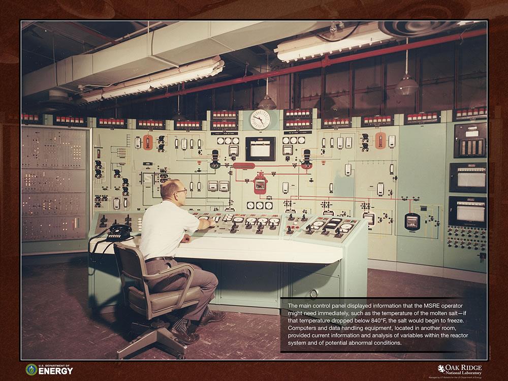 MSRE Control Room