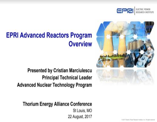 EPRI Presentation TEAC8