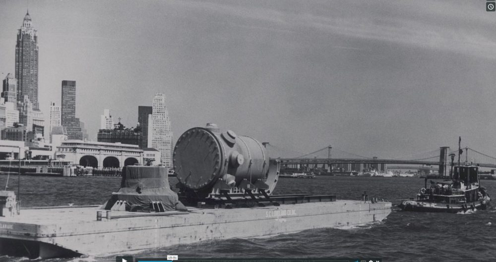 Reactor in East River