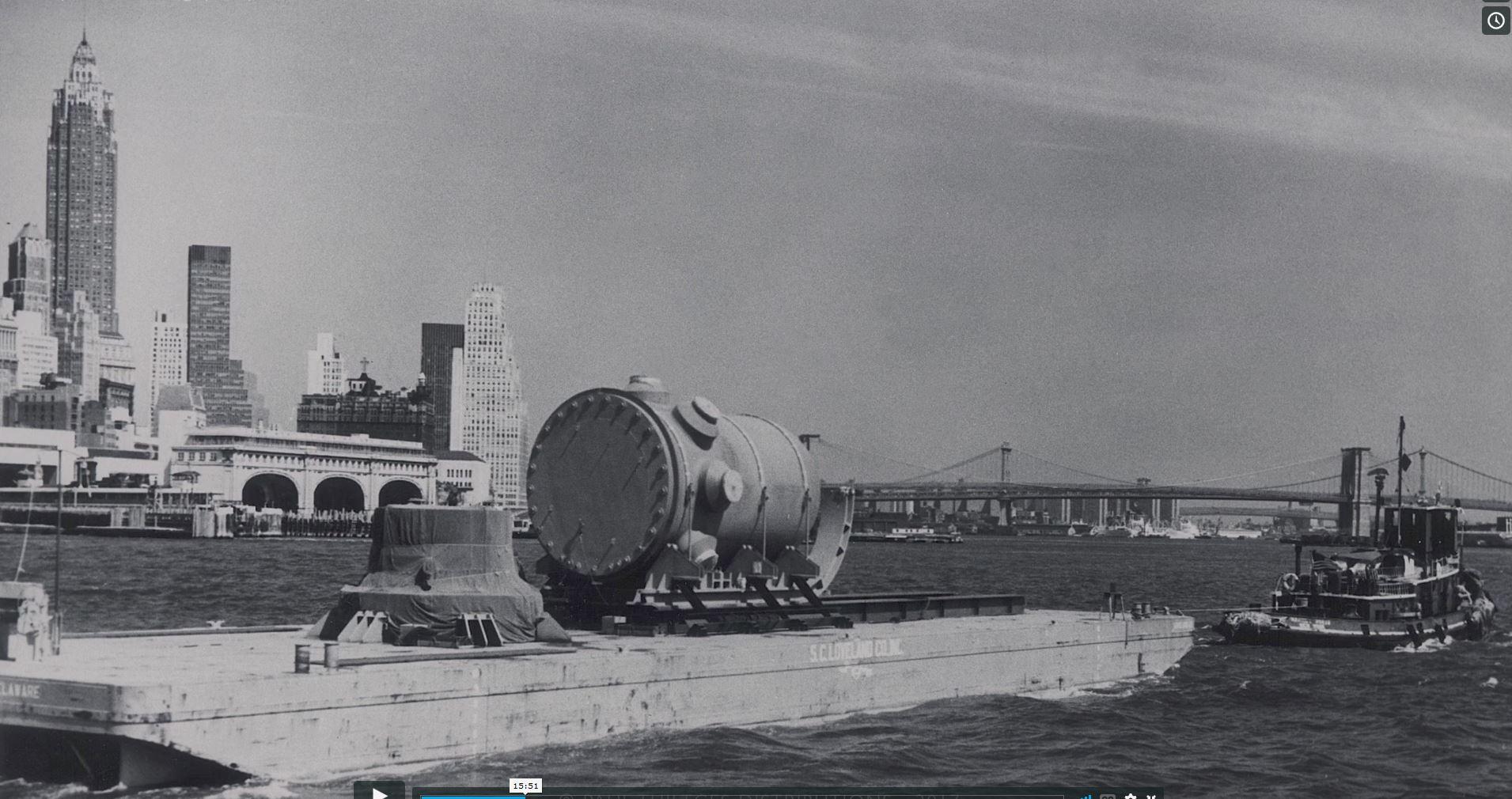 Reactor in East River