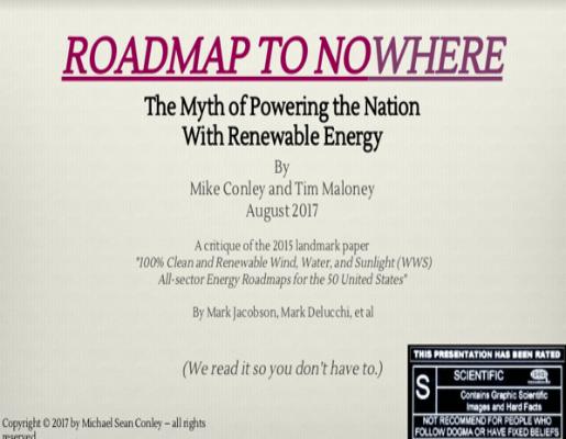 Roadmap to Nowhere