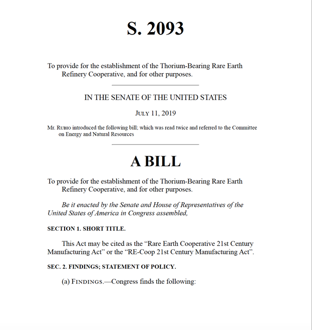 Senate Bill S. 2093 July 11 2019
