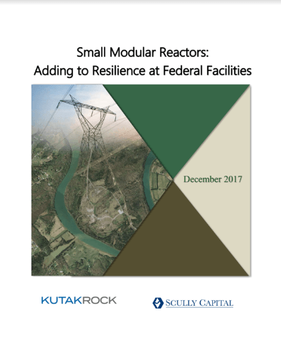Small Modular Reactors – Adding to Resilience at Federal Facilities