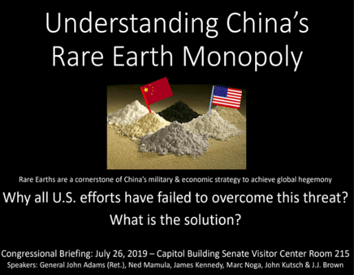 Understanding China's Rare Earth Monopoly
