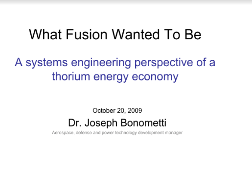 What Fusion Wanted To Be Bonometti