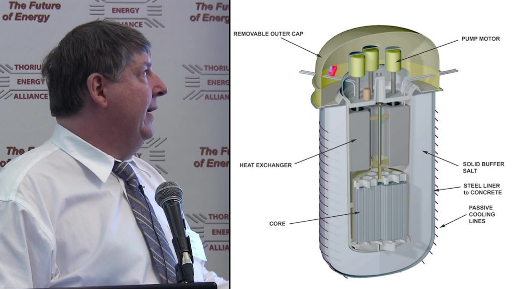 Dr. David LeBlanc – Integral Molten Salt Reactor TEAC 7