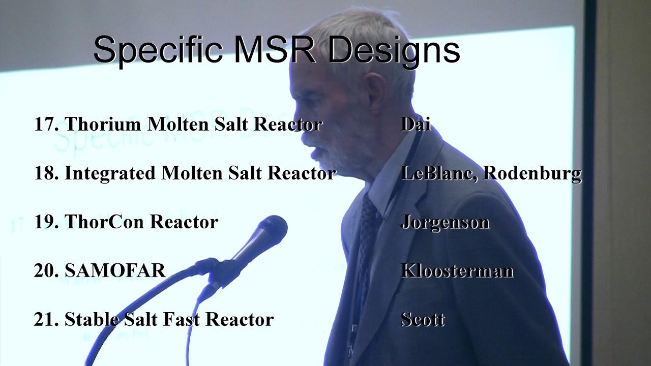 Dr. Thomas James Dolan – Molten Salt Reactor Textbook Released @ TEAC 8