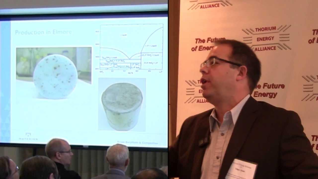 Edgar Vidal – Materion Flibe Salts @ TEAC 5
