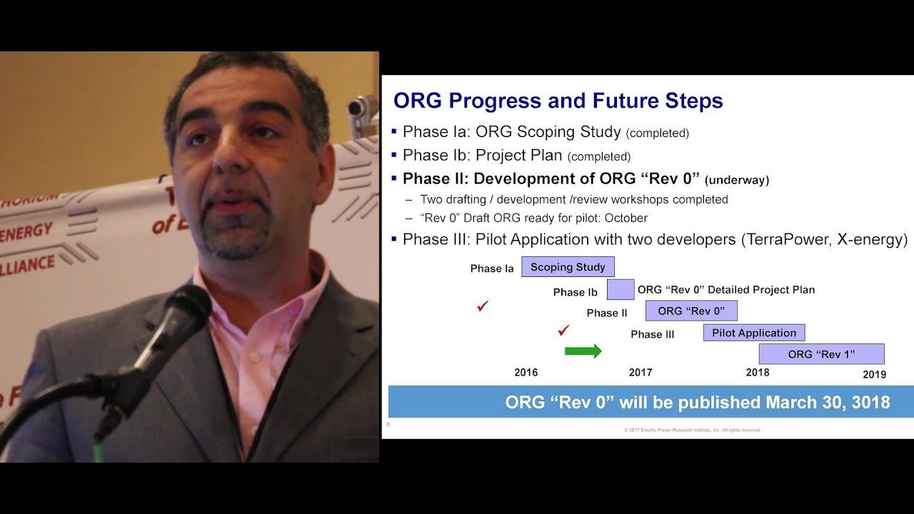 EPRI Advanced Reactor Program – Cristian Marciulescu @ TEAC 8