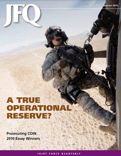 Joint Forces Quarterly 59