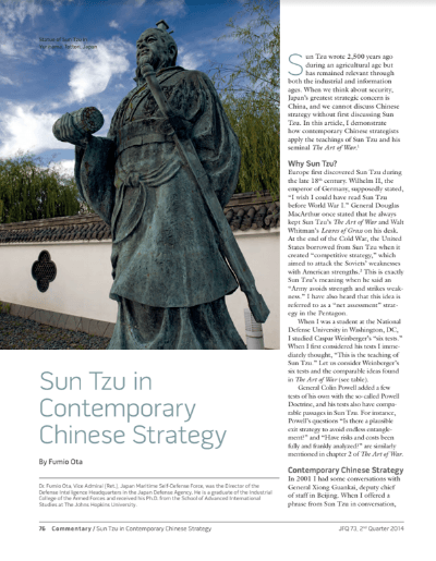Sun Tzu Chinese Strategy