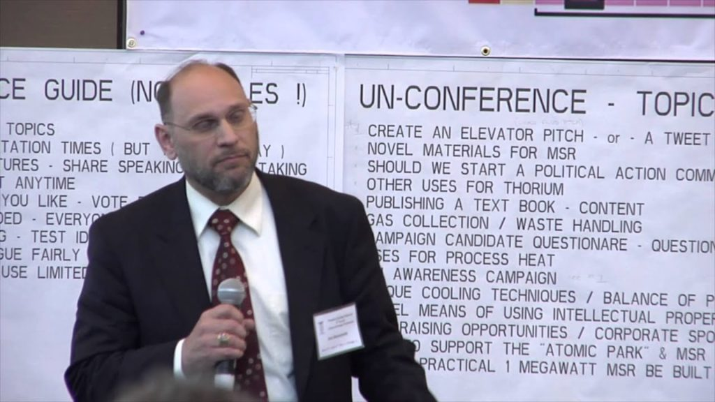 Joe Bonometti – Liquid, Modular & Thorium as the End Goal – Systems Analyst on MSR/LFTR TEAC 4