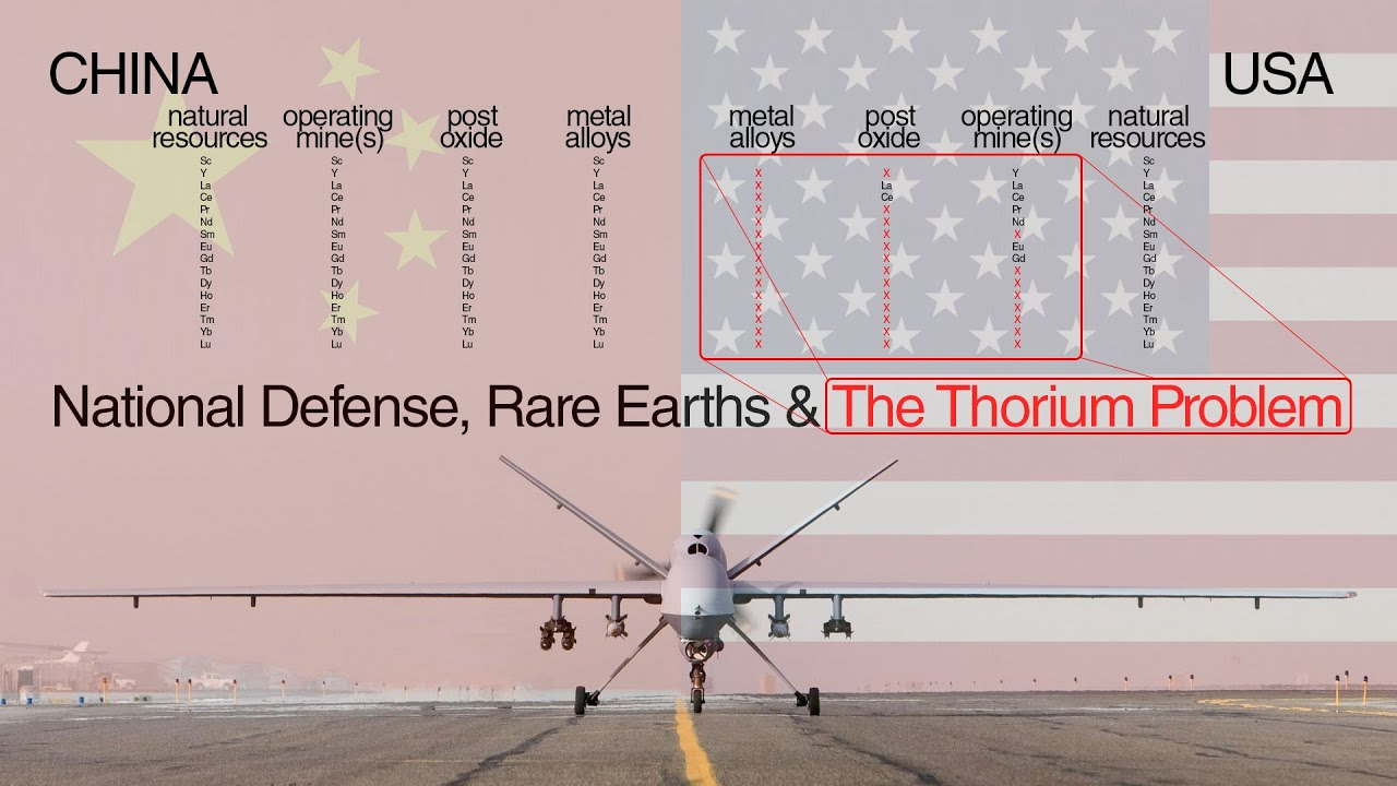 National Security, Rare Earth Elements & The Thorium Problem TEAC 6