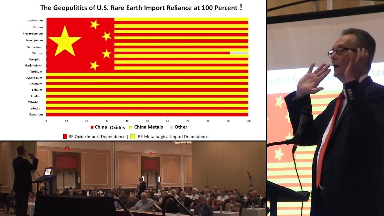 Ned Mamula – U.S. Rare Earth Import Reliance at 100% – Jim Kennedy intro @ TEAC 8