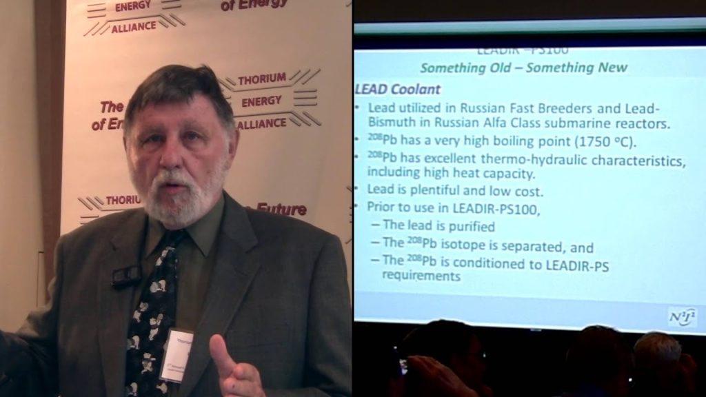 Ralph Hart – Prismatic 100 megawatts thermal LEADIR-PS100 TEAC 5