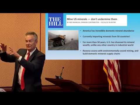 S. 2093 Rare Earth Cooperative 21st Century Manufacturing Act, Senator Marco Rubio TEAC 10