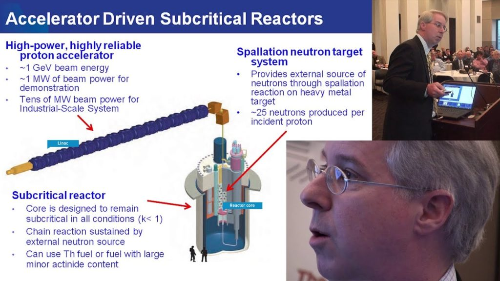 Stuart Henderson – Thorium Energy From Accelerator-Driven Reactors TEAC 4