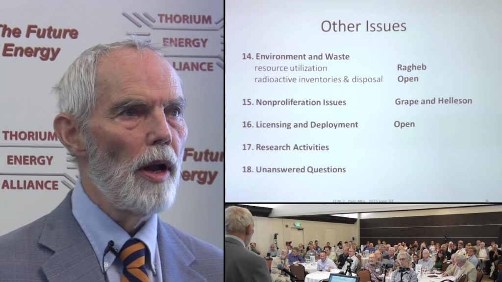 Thomas Dolan – Book on Molten Salt Reactors TEAC 7