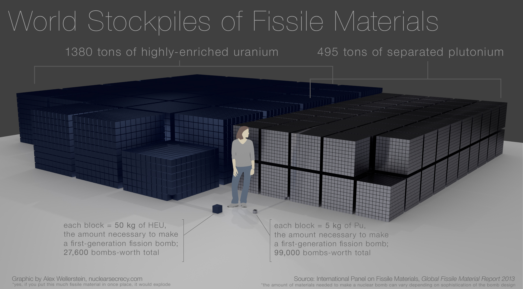 World  Fissile Material Stockpiles