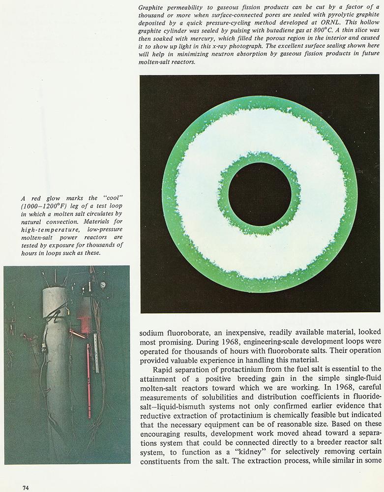 MSRE Booklet – Graphite pg 74