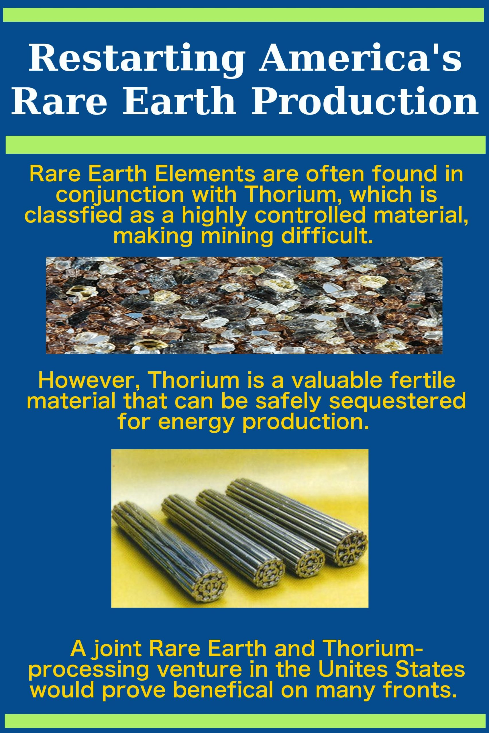 Rare Earth Thorium Poster